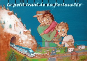 Le petit train de la Portanelle
